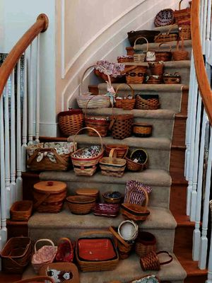 REDUCED RESELL 65 Longaberger Baskets Huge Lot All Sizes Holiday for Sale in Alexandria, VA