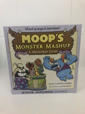 Moops Monster Mashup Munchkin Board Game by Steve Jackson Games for Sale in Simi Valley, CA