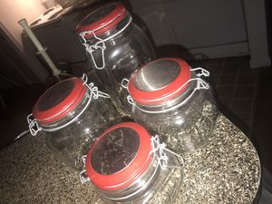 Cookie Jars (Accent Red) for Sale in Morrow, GA