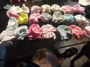 Lot of baby mittens for Sale in Kent, WA