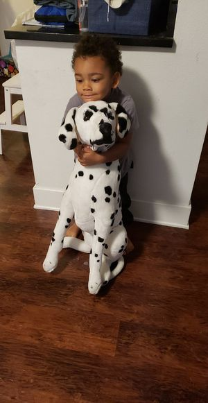 Dalamation dog stuffed animal life size for Sale in Los Angeles, CA