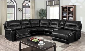 I Furniture sectional El Rio furniture finance available down payment $39 1456 belt line rd suite 121 Garland tx 75044 Open from 9:30-8:30 for Sale in Richardson, TX