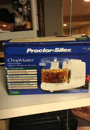 Proctor silex blender , chop master *new for Sale in Marlborough, MA