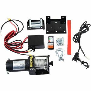 Costway AT3957 Classic 2500 lbs 12V Electric Recovery Winch for Sale in Tampa, FL