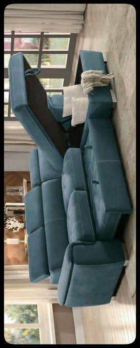 ✔STORAGE✔ Ferriday Blue Storage Sleeper Sectional for Sale in Mount Rainier, MD