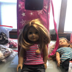 American Girl Doll With Case for Sale in Chicago, IL