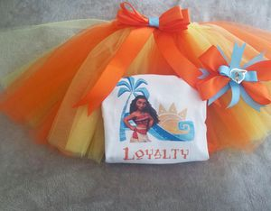 Moana tutu set for Sale in Fresno, CA