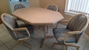 Kitchen Dining Table and 4 Chairs for Sale in Melbourne, FL
