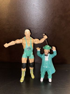 WWE Wrestling Adrenaline Series 38 Hornswoggle & Finlay Action Figures for Sale in Lake in the Hills, IL