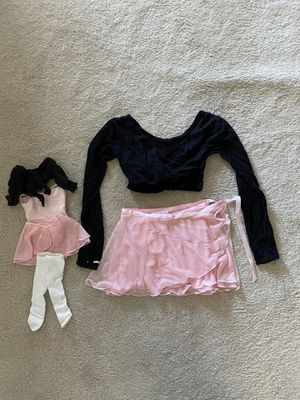 """American Girl Doll """"My Doll & Me"""" Ballet Outfits! (top: S, Skirt: XS) for Sale in Mission Viejo, CA"""