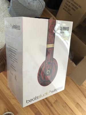 Beats earphones Studio 3 Wireless DJ Khaled for Sale in Miami, FL