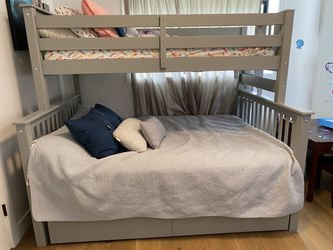 Gray bunk bed for Sale in Salt Lake City,  UT