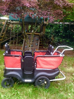 WINTHER 4 seat aluminum daycare stroller for Sale in University Place, WA