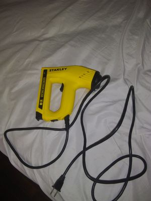 Stanley electric nail&staple gun new opened package never used for Sale in St. Louis, MO
