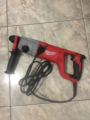 "Milwaukee rotary hammer sds 1"" De walt Bosch Makita for Sale in Miami, FL"