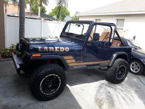 Jeep wrangler Laredo for Sale in Orlando, FL
