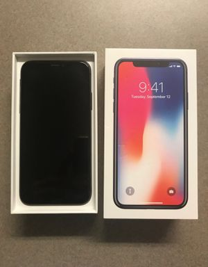 iPhone X Space Gray 64 GB for Sale in Columbia, SC