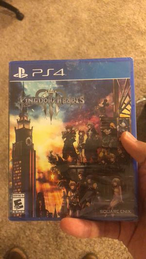 Kingdom hearts 3 PS4 for Sale in Salem, OR