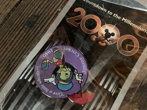 Disney Pin Countdown to the Millennium Series #83, Jiminy Cricket New for Sale in Milmont Park, PA