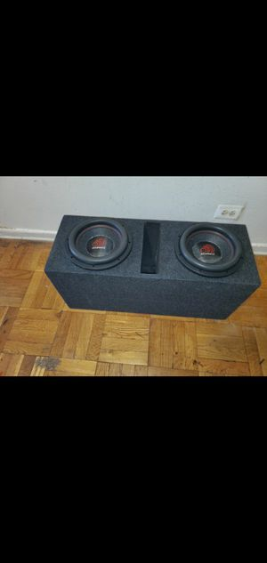 """10"""" MASSIVE AUDIO HIPPO XL 2000W RMS AND 4000WATTS MAX EACH SUBWOOFER GIVING YOU 8000WATTS MAX for Sale in The Bronx, NY"""