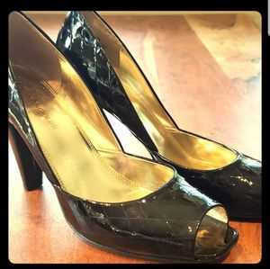 Enzo Angiolini Black Patent Leather Heels for Sale in Leavenworth, WA