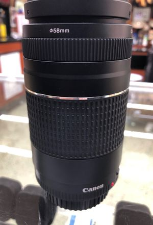 Canon 58mm EF Lens for Sale in Los Angeles, CA