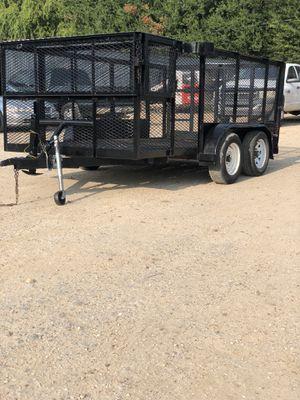 14ft Landscaping trailer for Sale in Houston, TX