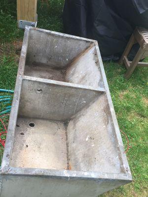 Faux soapstone cement sink for Sale in Arlington, MA