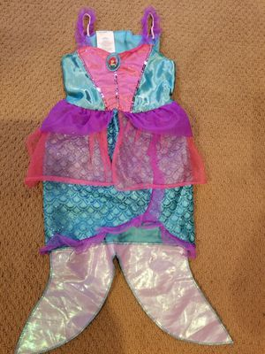 Princess Ariel approx. Size 3-5 year Mermaid costume for dressup from Disney store for Sale in Renton, WA