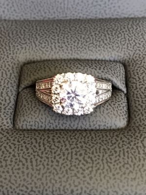 REDUCED 14K White Gold Engagement Ring Size 7 for Sale in Knoxville, TN