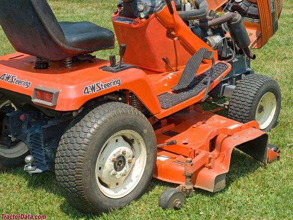 Blown g1900 tractor