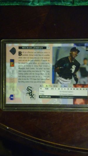 Michael Jordan rookie Chicago White Sox cards for Sale in Kansas City, MO