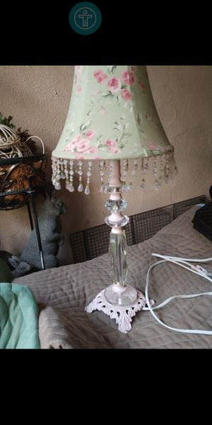 Crystal Victorian lamp $20 for Sale in Fresno, CA