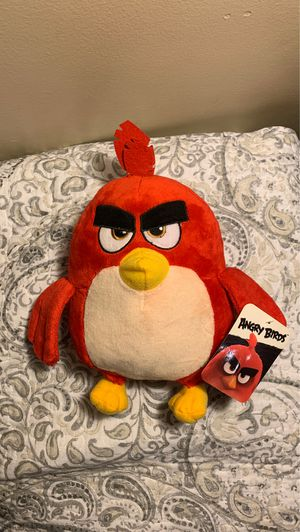 Red Angry Birds plushie , stuffed animal for Sale in Warwick, RI