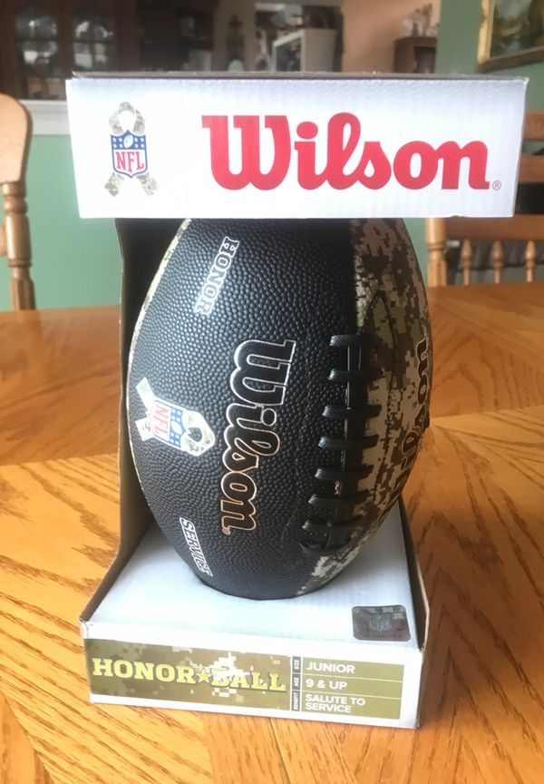 Wilson Junior NFL Salute to Service Camouflage Football