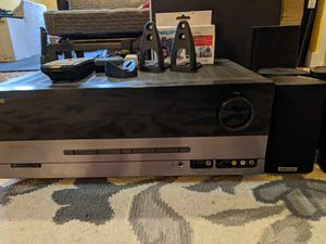 Harmon/Kardon HDMI tuner w/ Polk Audio speaker set for Sale in Vashon, WA
