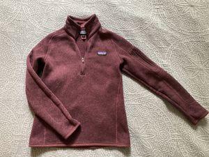 Patagonia Women's quarter-zip fleece pullover for Sale in Redmond, WA