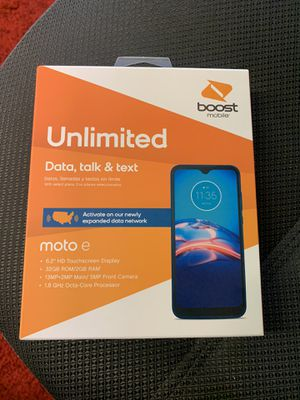 Cricket & Metro PCS customers get Moto E FREE, by switching to BOOST MOBILE for Sale in Houston, TX