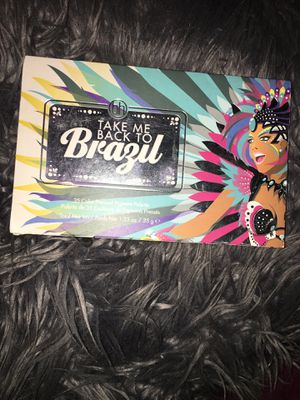 Bh cosmetics take me back to Brazil pallete for Sale in Los Angeles, CA