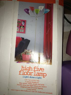 5 color floor lamp for Sale in Nashville, TN