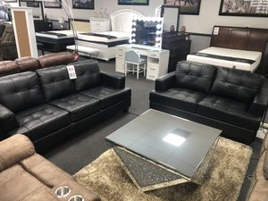 Leather Sofa & Love Seat on SALE 🔥 for Sale in Fresno, CA