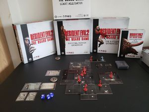 Resident Evil 2 Board Game + Kickstarter for Sale in Lakewood, WA