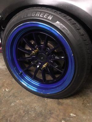 15x8.25 wheels 4x100 minty for Sale in Miami, FL