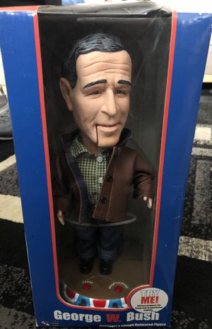 2003 George W. Bush Collectors Edition Animated Figure for Sale in Seaside, CA