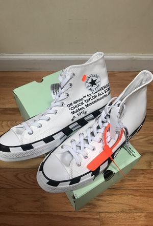 Off-White Converse Size 11.5 for Sale in New York, NY
