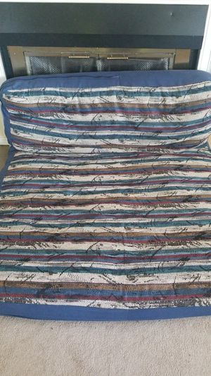 full mattress & futon frame $75or best offer for Sale in Anchorage, AK