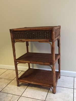 Wicker Side Table for Sale in Silver Spring, MD