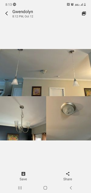 Lighting fixtures package for Sale in Portsmouth, VA