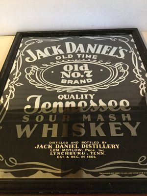Jack Daniels no. 7 bar mirror 1998 for Sale in Brockport, NY