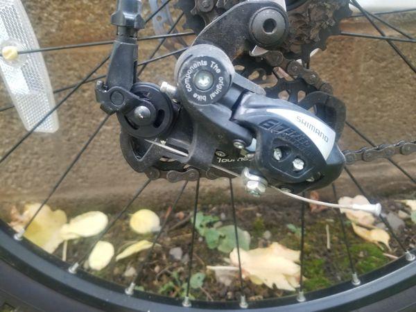 Mountain bike - brake discs & and front suspension